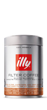 Illy Ground coffee Filter 250ML